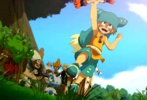 Grâce à Gruffon, la carte magique de Yugo, le groupe sait où chercher le Dofus de Qilby