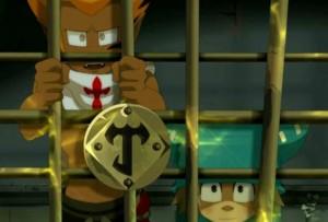 Le Chevalier Justice a enfermé Yugo et ses amis