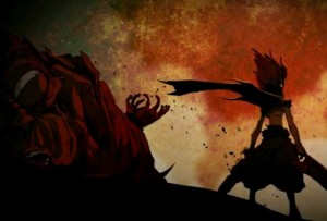 Rubilax a attaqué le Chevalier Justice et son père