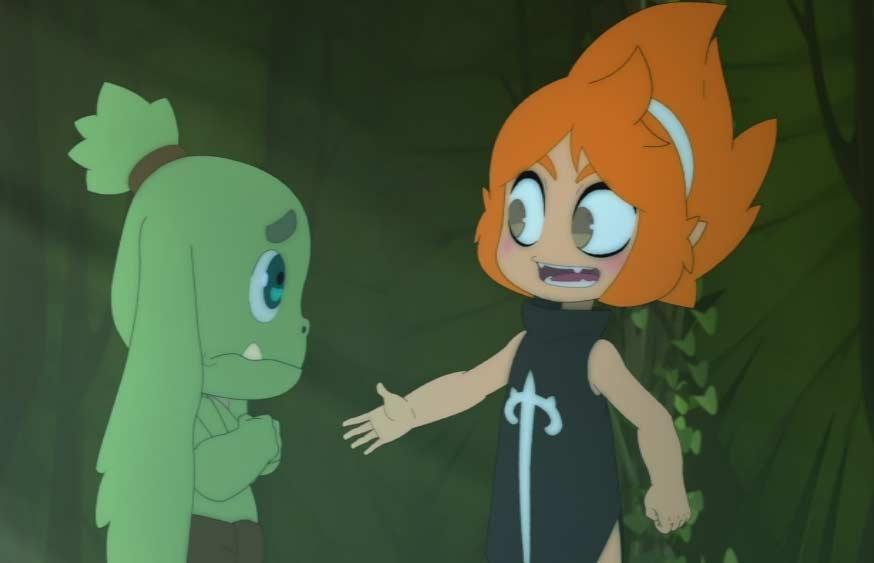 Elely veut être l'amie d'Ogrest