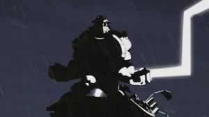 Ogrest apparait lors de l'affrontement entre Yugo et Nox