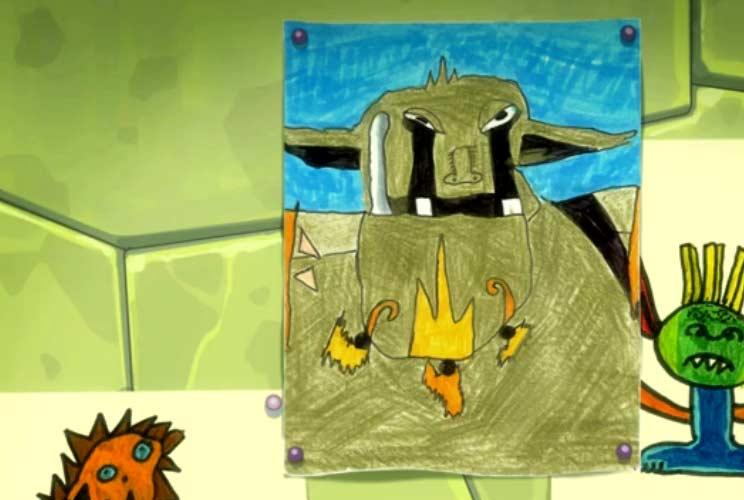 Ogrest dessiné par Yugo