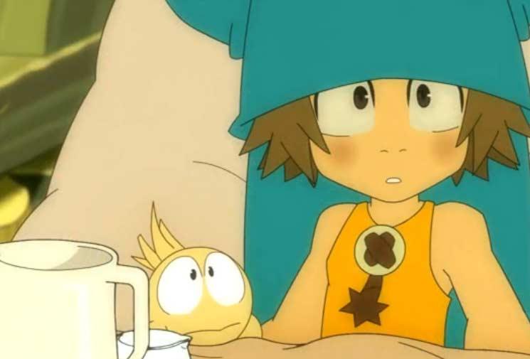 Yugo et Az écoutent la légende d'Ogrest