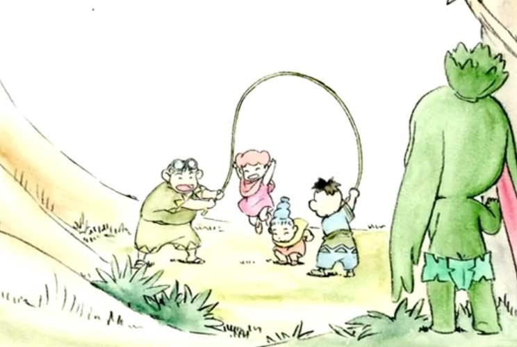 Ogrest se sent rejeté des autres enfants