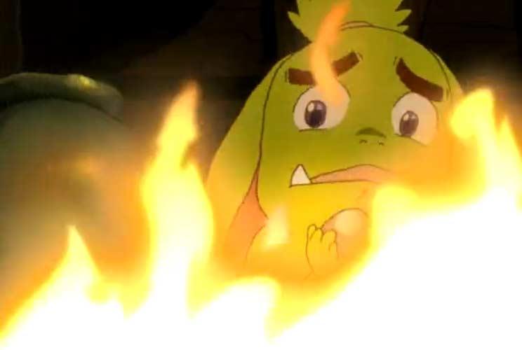 Ogrest provoque un incendie dans l'atelier d'Otomaï