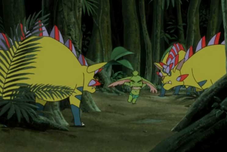 Ogrest est attaqué dans la forêt
