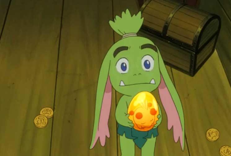 Ogrest a trouvé un Dofus