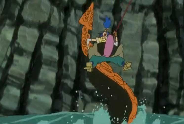 Otomaï est attrapé par un cralamour géant