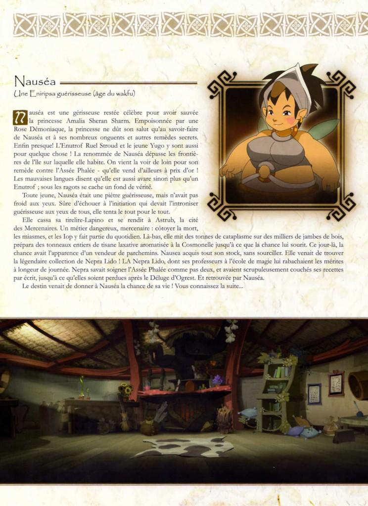Nauséa a une fiche technique page 61
