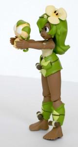 la figurine Wakfu DX d'Amalia est fournie avec sa poupée Sadida
