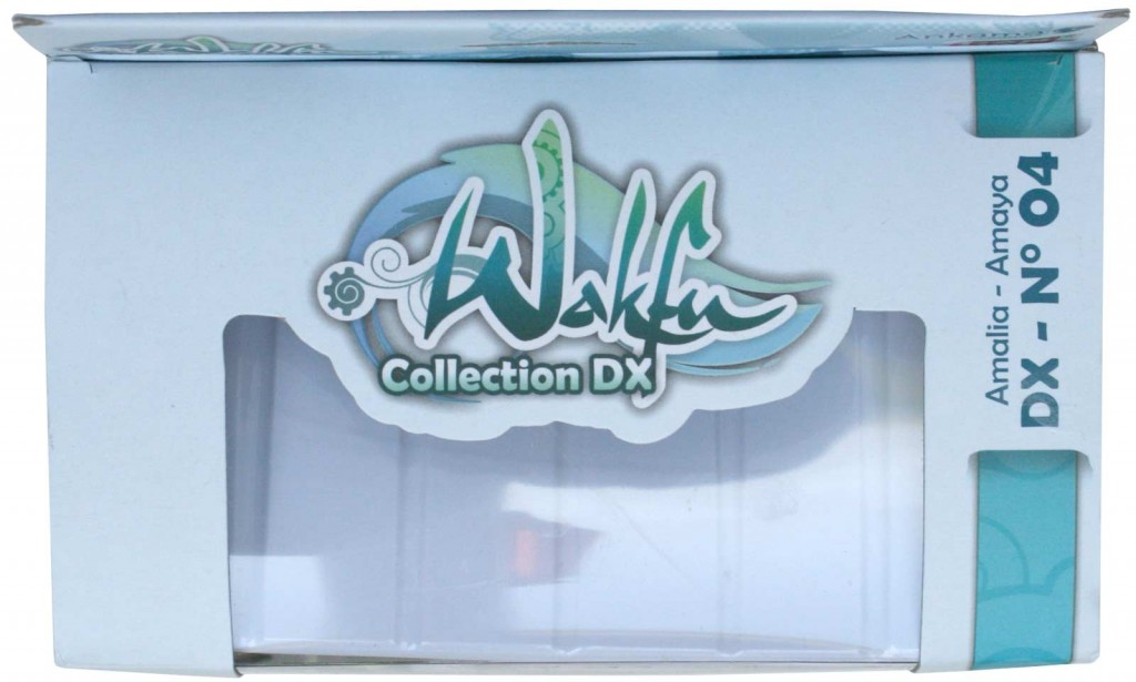 dessus du Packaging de la figurine Wakfu DX d'Amalia