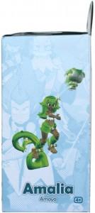 Côté gauche du Packaging de la figurine Wakfu DX d'Amalia