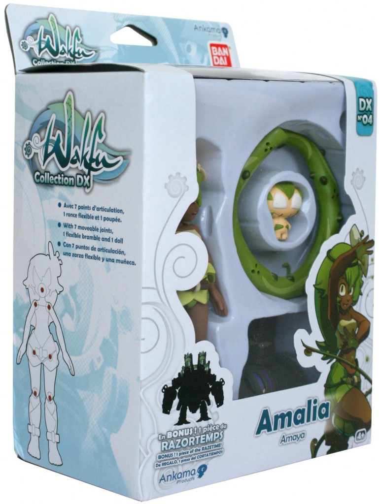 Packaging de la figurine Wakfu DX d'Amalia