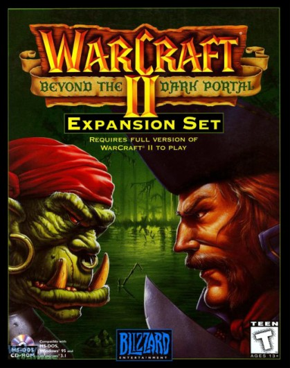 Couverture de l'extension Warcraft 2 : beyond the dark portal