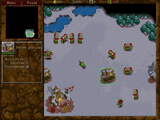Warcraft 2 : ferme porcine des orcs