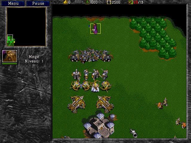 Warcraft 2 : mage de l'alliance