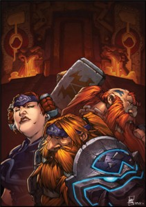 Warcraft : Conseil des 3 marteaux qui dirigent les nains