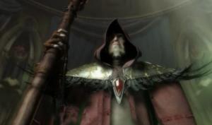 Warcraft 3 : Medivh tente de convaincre les dirigeants humains de quitter Lordaeron qui est perdu pour lui.