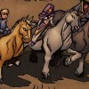 Anduin, Jaina, Varian, Broll et Valeera visitent Aprefange (BD World of Warcraft)