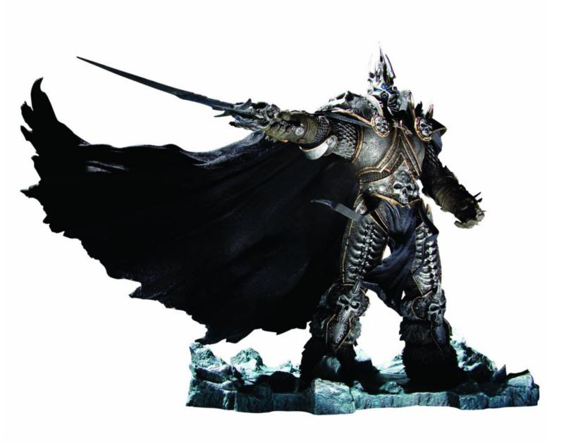 DC Unlimited : World of Warcraft – Arthas Menethil Deluxe collector