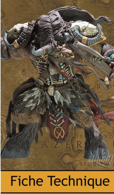 DC Unlimited : World of Warcraft Deluxe – Series 3 – Tauren chasseur Brave Highmountain