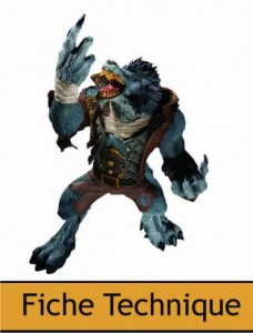 DC Unlimited : World of Warcraft – Series 7 – Espion Worgen Garm Whitefang