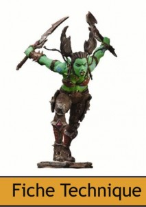 DC Unlimited : World of Warcraft  Series 7  Orc voleuse Garona