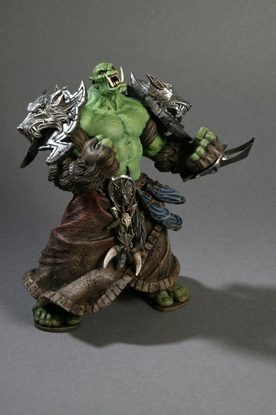 DC Unlimited : World of Warcraft – Series 1 – Chaman orc Rehgar Earthfury