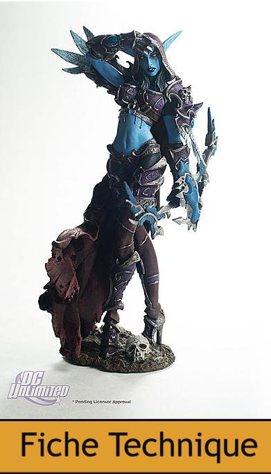 DC Unlimited : World of Warcraft – Series 6 – Dame Sylvanas, reine des Reprouves