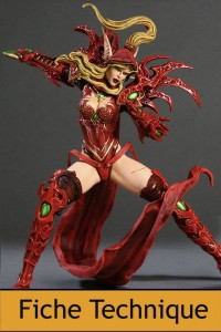 DC Unlimited : World of Warcraft - Series 1 - Elfe de sang voleuse Valeera Sanguinar