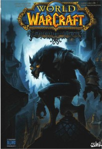 Couverture de la bande-dessinee World of Warcraft : la malediction des worgens