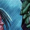 Première rencontre entre Varian et Thrall à Theramore pour des pourparlers de paix entre la Horde et l'Alliance (bande-dessinée World of Warcraft)