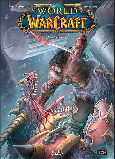 Couverture du tome 5 de la bande-dessinee World of Warcraft :