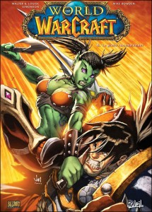 Couverture du tome 8 de la bande-dessinee World of Warcraft