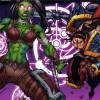 Garona est immobilisee par un sort de Stasia du Marteau du Crepuscule et Varian se precipite pour la tuer  (bande-dessinee World of Warcraft)