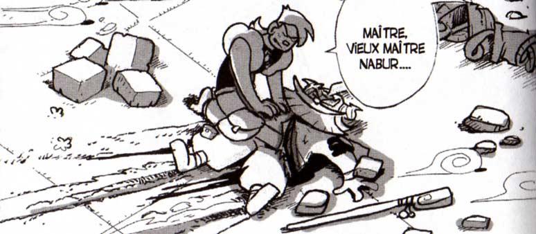 Nabure le maître de Crail a été tué par Dark Vlad (Dofus)
