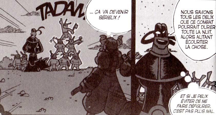 Vil Smisse attaque Crail (Dofus)