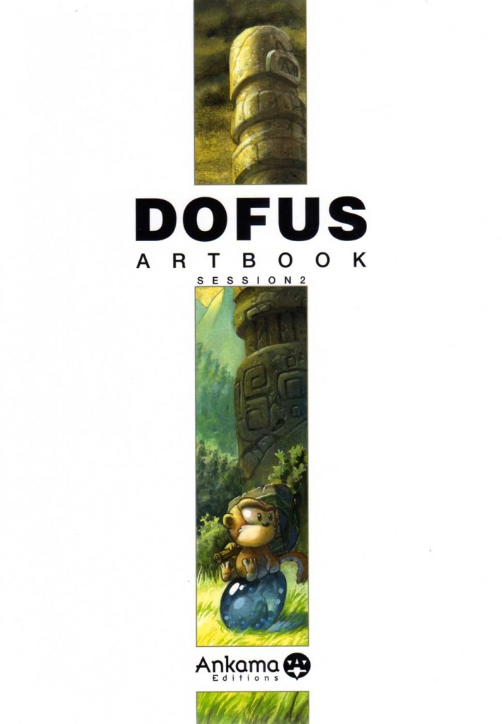 Dofus Art Book : Session 2 (Couverture)