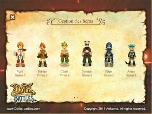 Douze classes de personnages sont disponibles