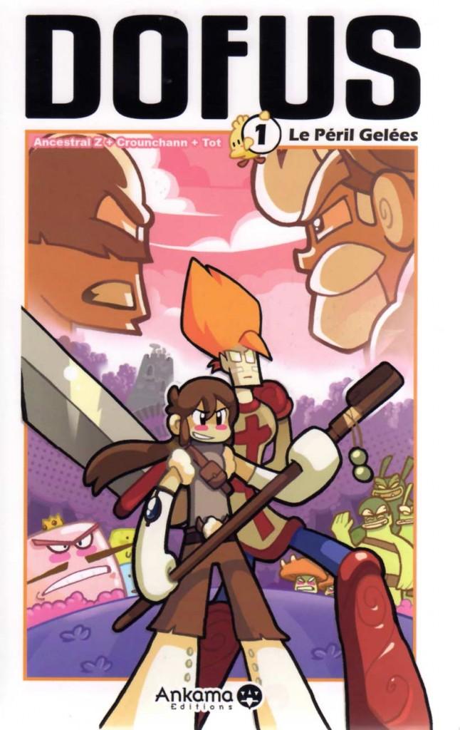 Tome 1 du Manga Dofus (Couverture)