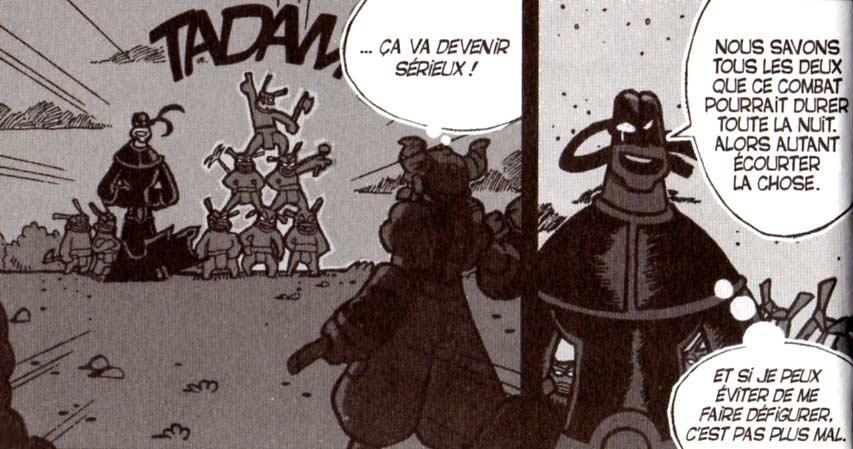 Vil Smisse attaque Crail avec ses démons