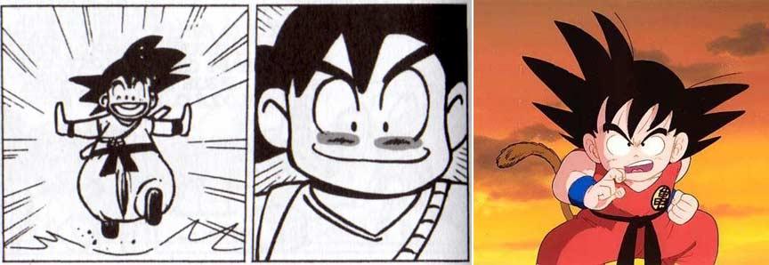SanGroku de Dofus est une parodie de SanGoku tiré de Dragon Ball