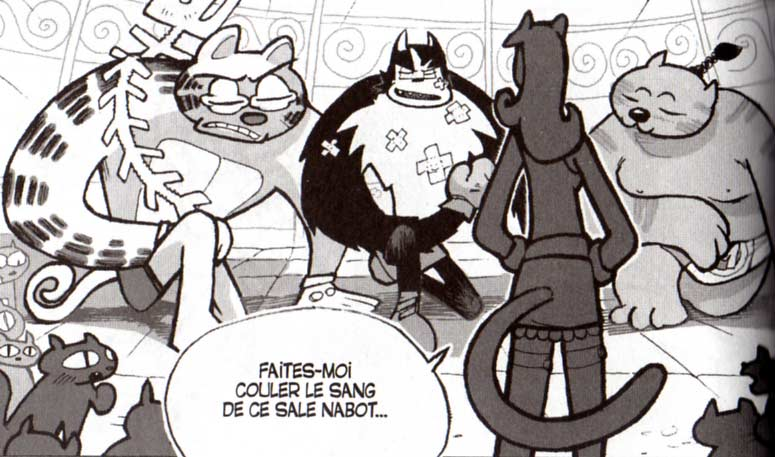 Mylaise invoque Hercule, Garfield et Isidore (Dofus tome 1)