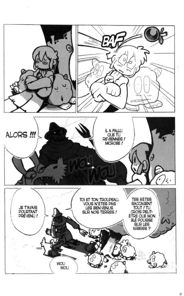 Page 3 du Tome 1 du Manga Dofus