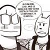 Jock et Lack sont des parodies de Jack Shephard et John Locke de la série Lost : Les disparus