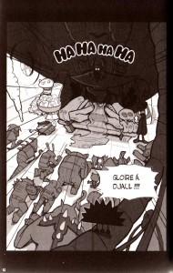 Page 1 du tome 2 du manga Dofus : La passion du Crail