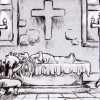 Brumen pleure la mort de Sacha (Dofus Monster)