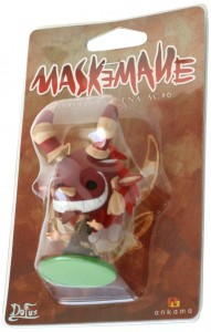 Packaging de la figurine SD de Maskemane