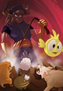 Illustration de Jonat pour le jeu Dofus
