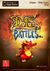 Jaquette du jeu Dofus Battles